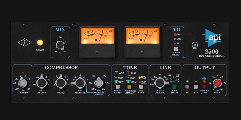 Universal Audio API 2500 Bus Compressor for UAD-2 and Apollo