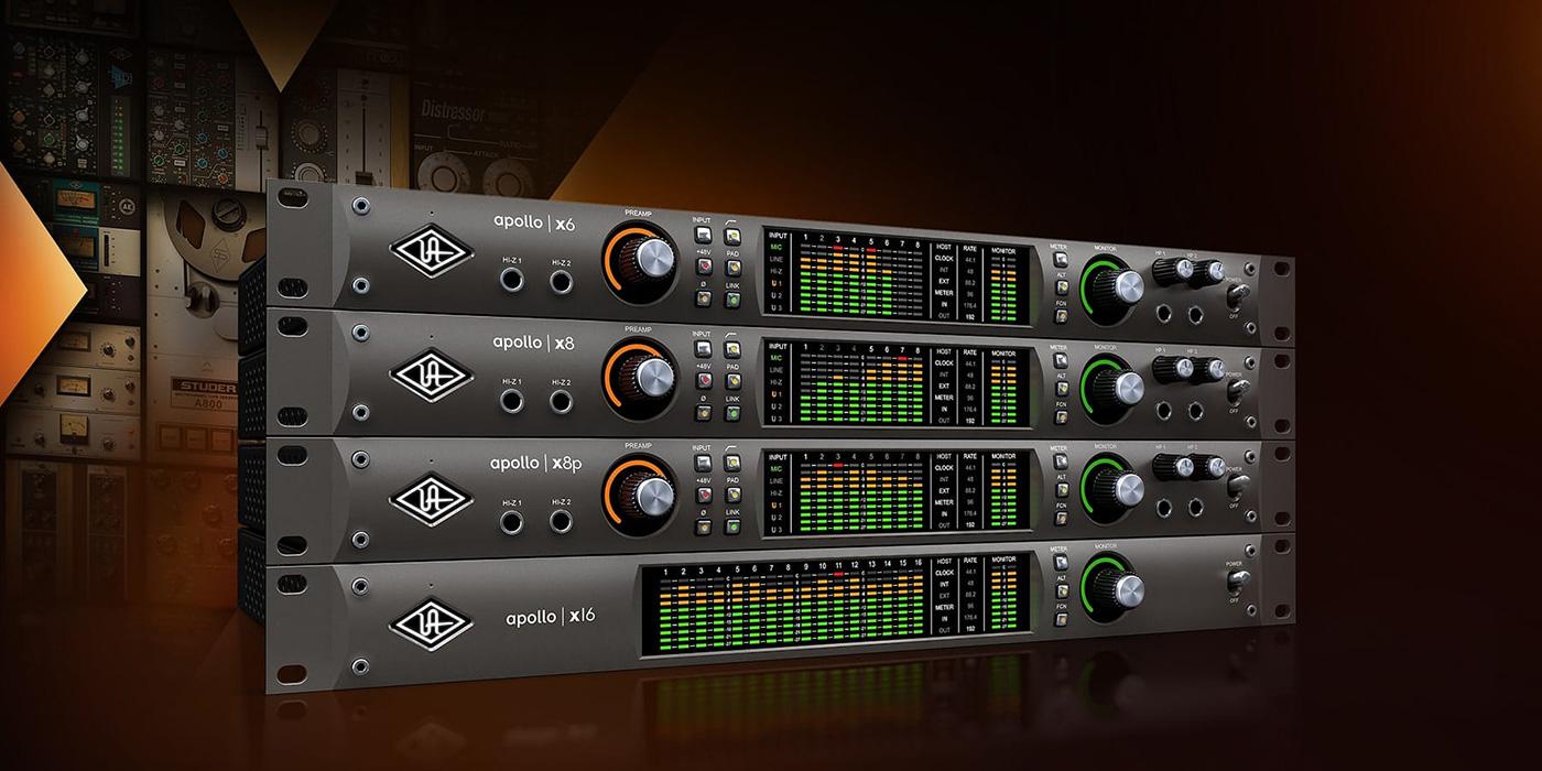 Recording Gear Review: Universal Audio Apollo X–More power, more DSP