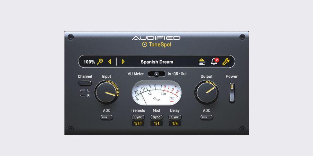 Audified Tonespot
