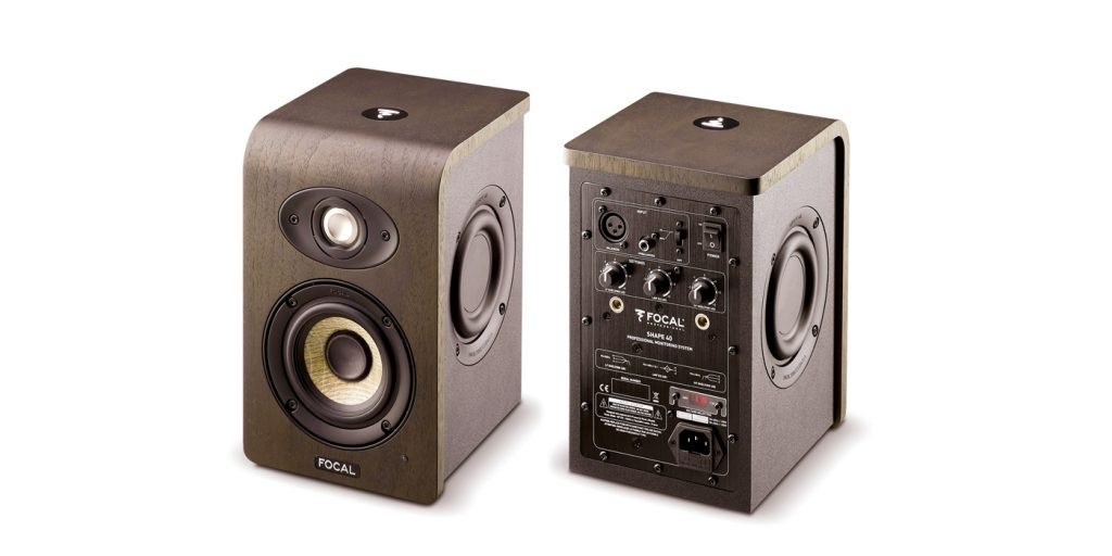 Focal Shape 40 Front and Back
