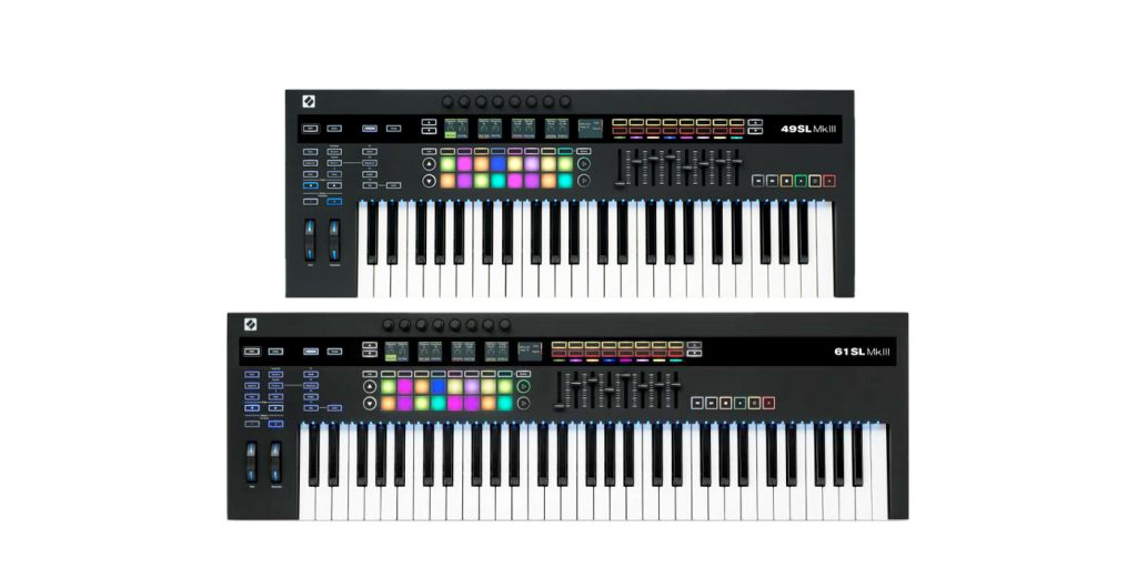 Novation 49SL and 61SL MkIII Keyboard Control Surfaces