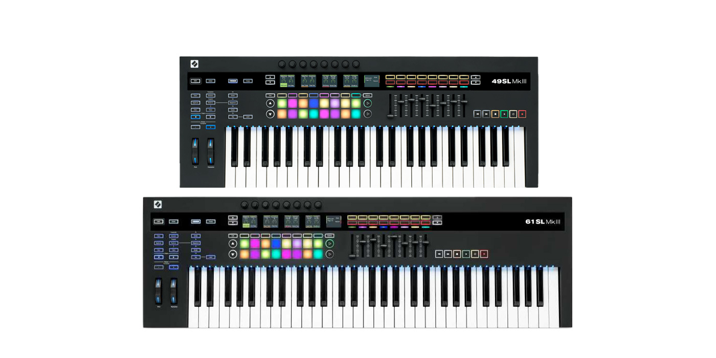 Novation SL MkIII: Keyboard control surfaces that has