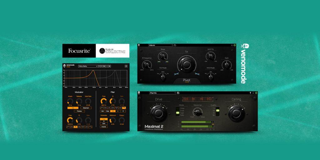 Focusrite and Venomode offer free plug-ins