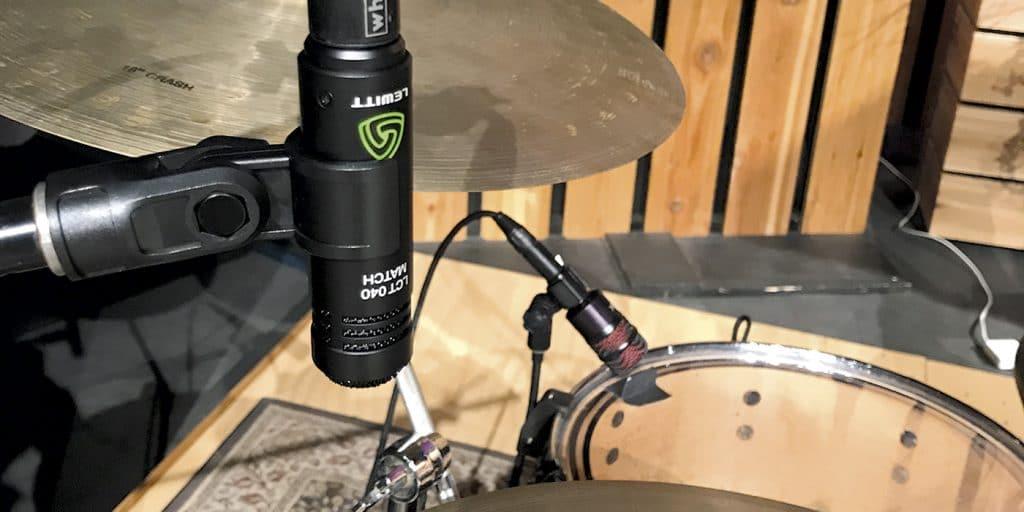 Lewitt LCT 040 Match miking drums