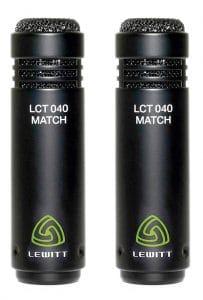 LEWITT LCT 040 MATCH pair