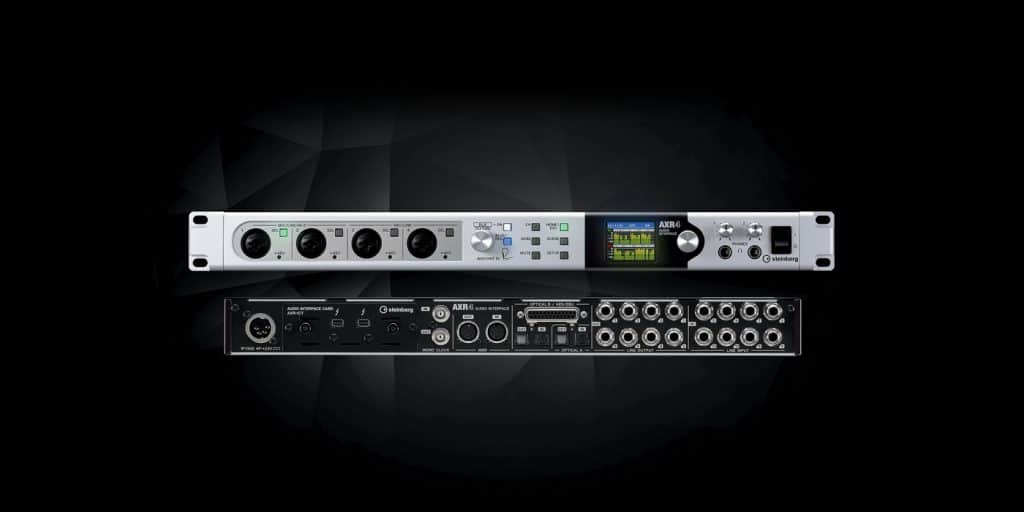 Steinberg AXR4 Thunderbolt 2 Audio Interface