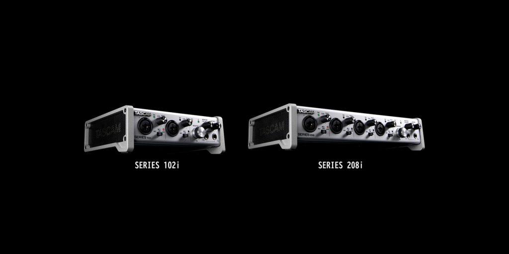 Tascam 102i 208i Audio Midi Interface