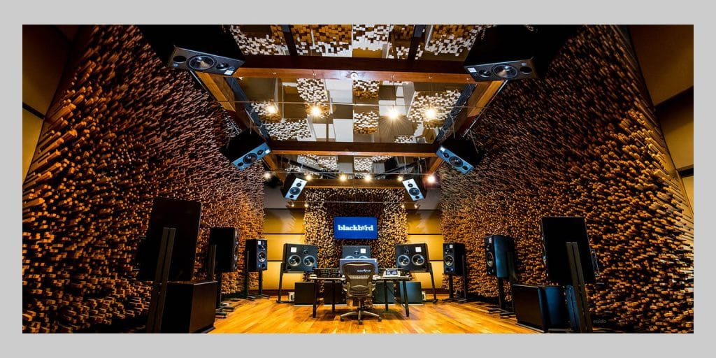 Blackbird Studio with ATC Monitors