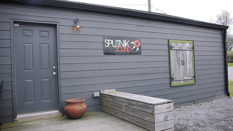 Exterior of Sputnik Sound