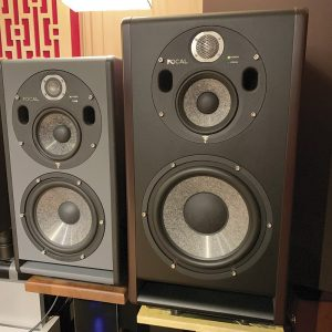 Focal Trio11 Be Monitors in Studio