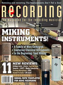 Recording October 2019 Cover