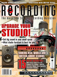 Recording Magazine November issue cover