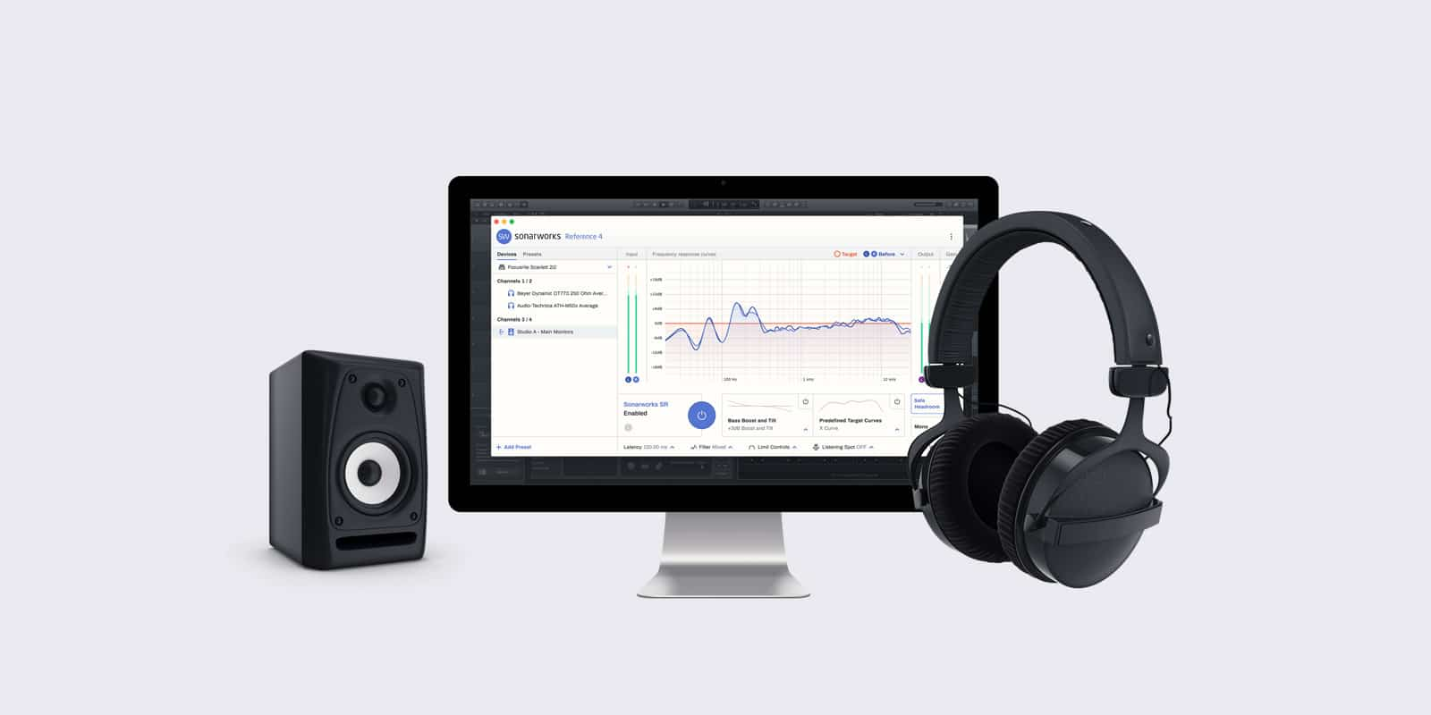 Sonarworks' Reference 4.4. Adds Multiple Device Presets, New Headphone Profiles