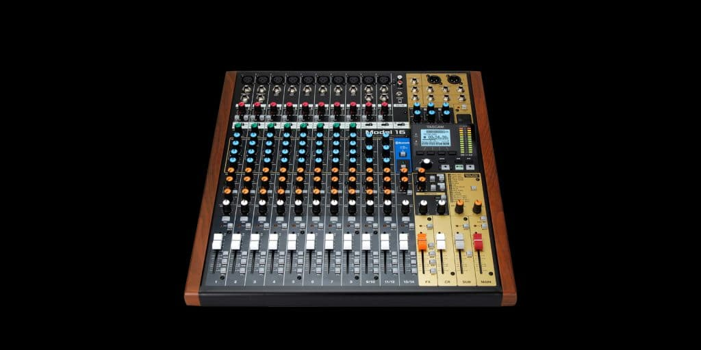 TASCAM Introduces the Model 16 All-In-One Mixing Studio