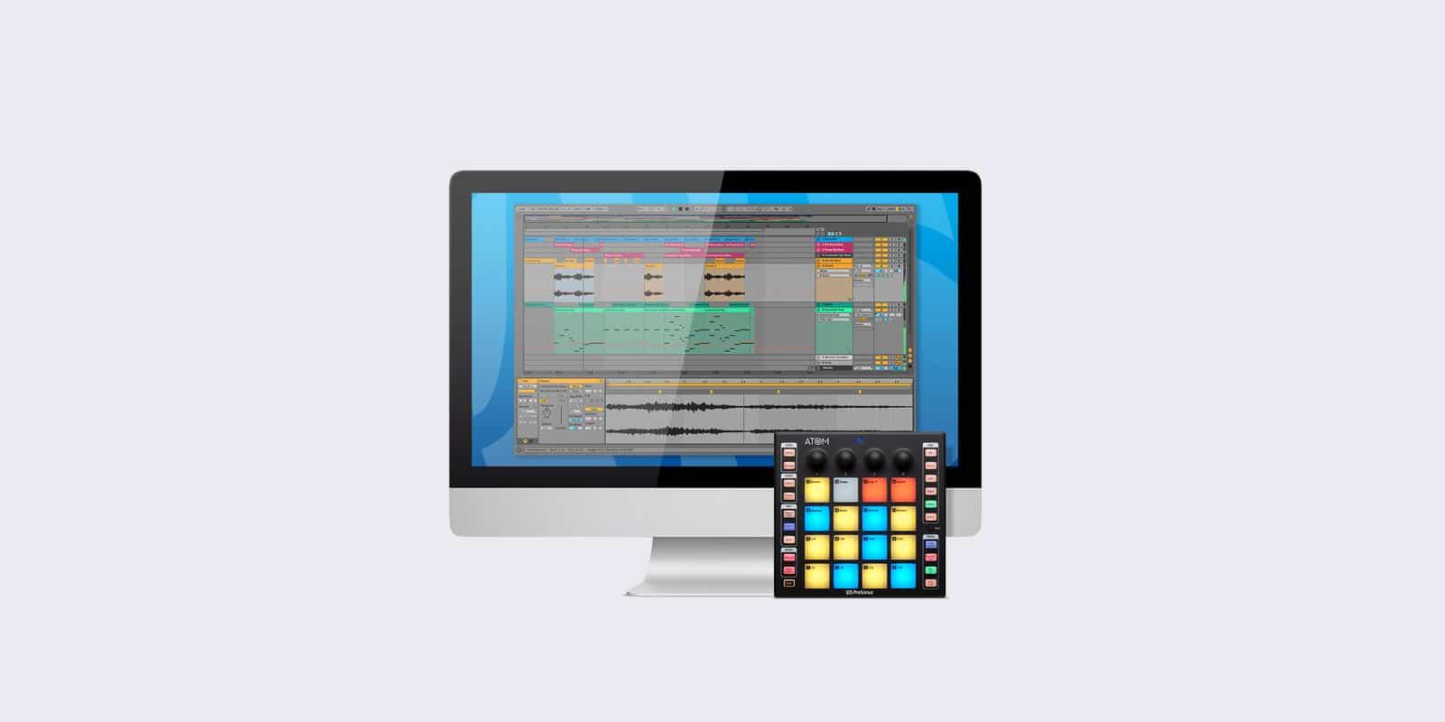 PreSonus ATOM and Ableton Live Form World-Class Performance Setup