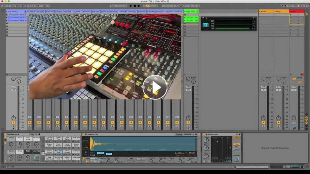 PreSonus ATOM Ableton Live Video