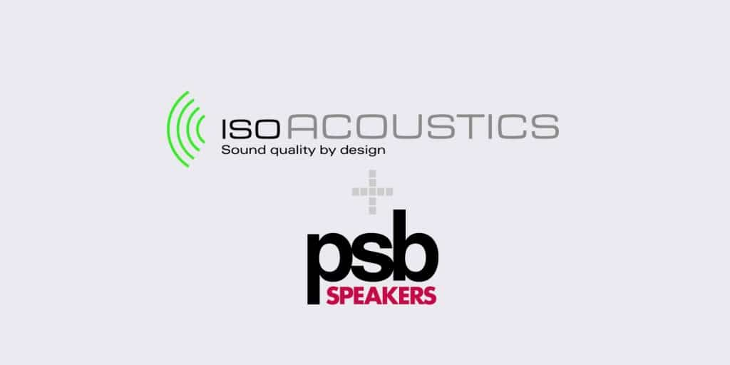 Isoacoustics + psb speakers