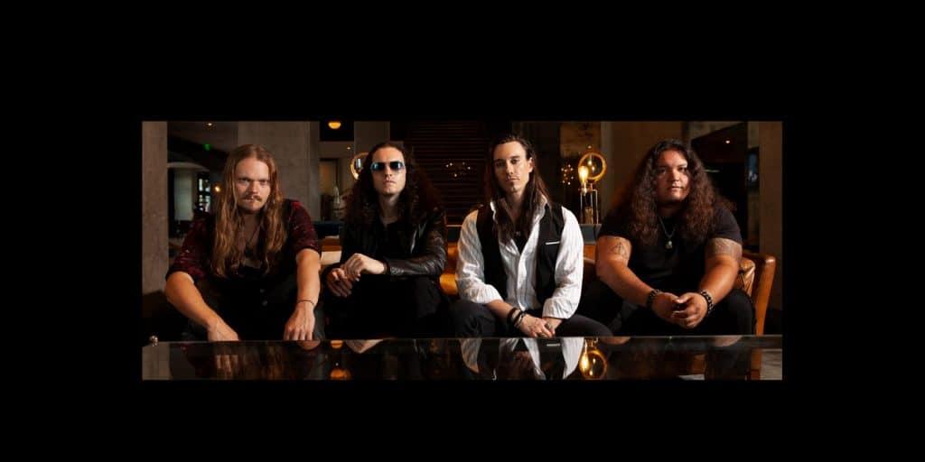 Texas Hard Rockers Black Heart Saints
